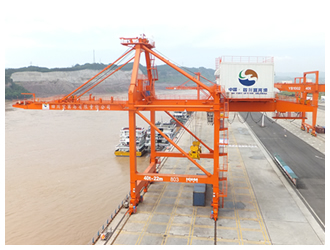 Yibin ports' container volume surges nearly 200pc to 15,857 TEU