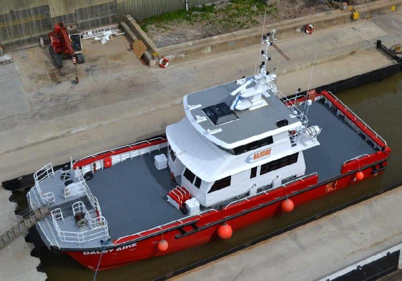 Alicat Workboats, South Boats IOW Join Forces for Seawork (UK)