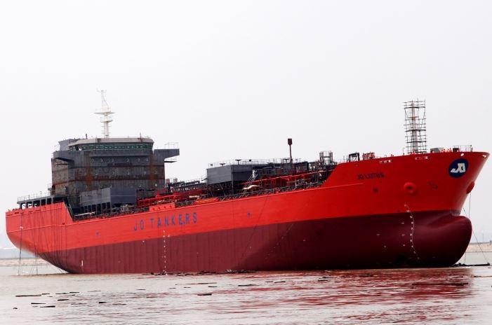 Mingde Heavy Launches Biggest Asian Built Chemical Tanker
