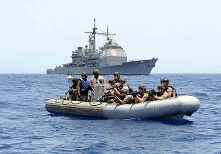 Multinational anti-pirate navies seek merchant ship help in operation