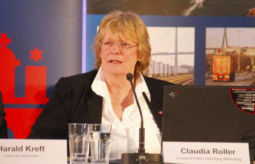 Port of Hamburg Marketing CEO Claudia Roller retires for health reasons