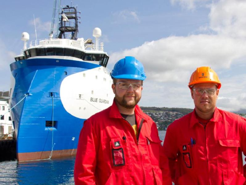 Ulstein Delivers PSV 'Blue Guardian' to Blue Ship Invest (Norway)