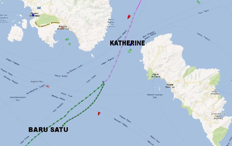 Analysis on Aegean Collision: How it happened?