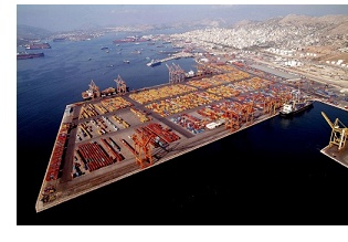Capt Wei's last hurrah, attends gala opening of new Piraeus terminal