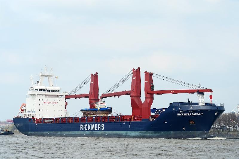 Rickmers-Linie names second multi-purpose ship for India-Europe run