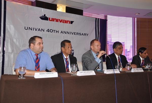Univan celebrates 40th anniversary opening new Philippines HQ in Manila