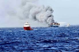 MOL Comfort oil slick disperses, partner OOCL announces total loss