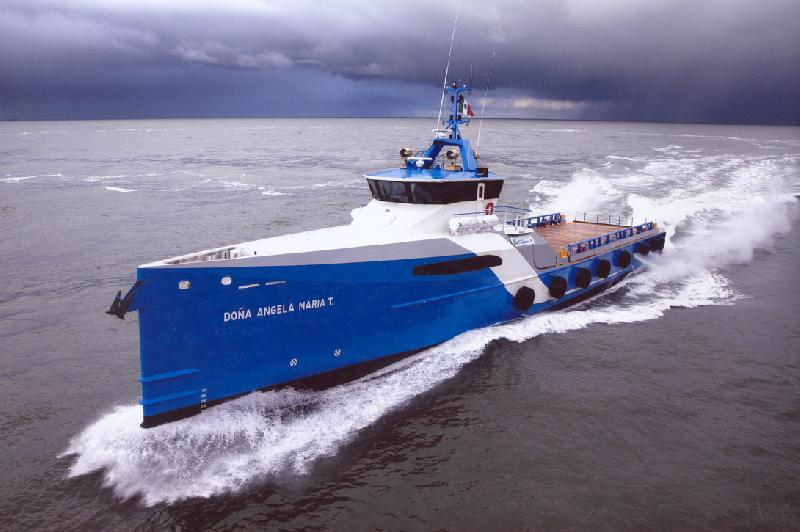 Naviera Integral, Damen Sign Contract for Two Fast Crew Suppliers