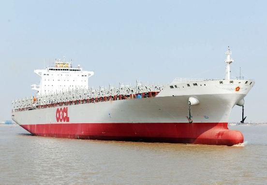 OOCL's sixth 13,208-TEU newbuild named NYK Hermes ahead of charter