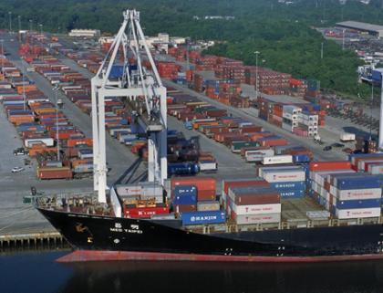 Savannah box volume flat, but tonnage hits record high of 27 million tons