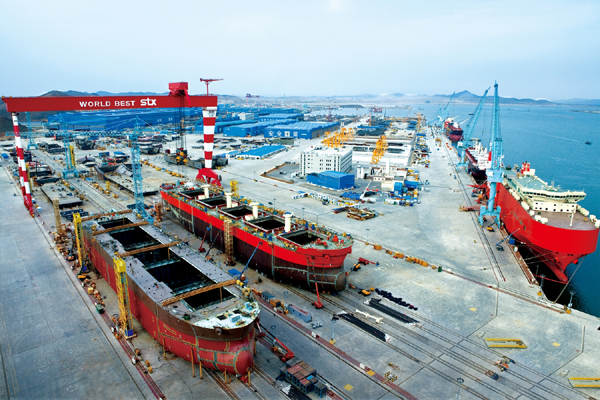 China's State Shipyards Help Widen Lead Over Korea in Orders