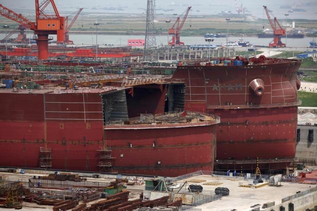 China to build 16,000 TEUers at Shanghai's Jiangnan Changxing Heavy
