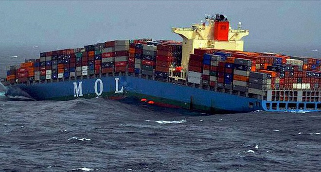 Hull work done on 3 of 6 sister ships of MOL Comfort that split in two