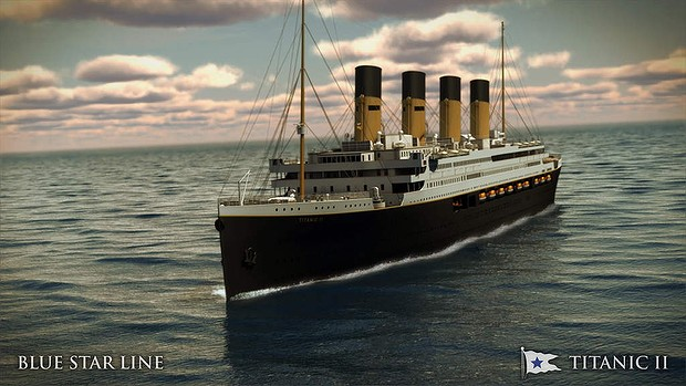 Germany: HSVA to Conduct First Model Testing of Proposed Titanic II