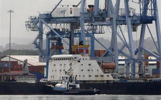 Panama expects to release crew of detained North Korean weapons ship