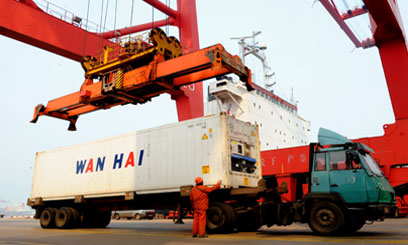 US recovery, EU levelling, plus China demand sparks 8.4pc port growth