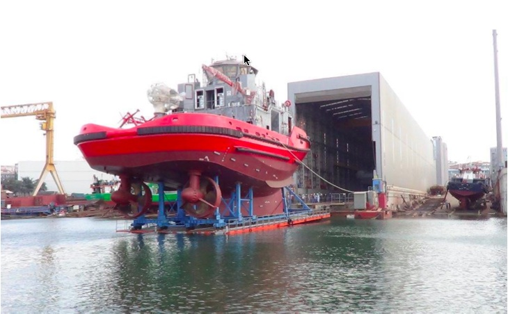 Turkey's Sanmar launched world's first LNG fuelled tugboat