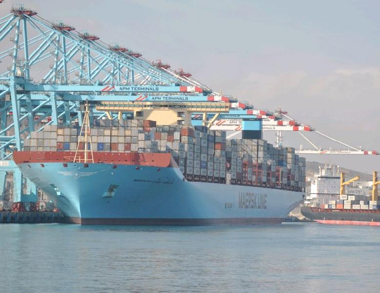 Maersk Mc-Kinney Moller Blazes Trail of Record Productivity at Ports