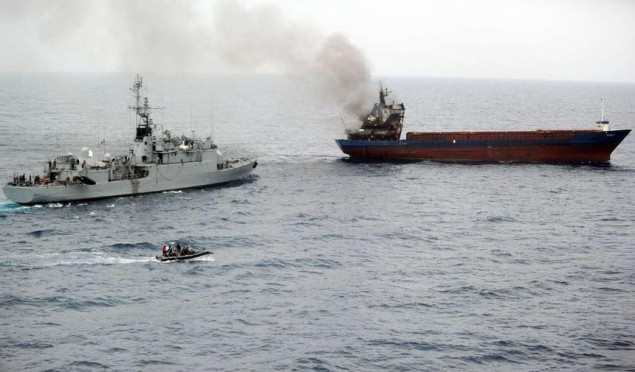 French navy saves 10 tonnes of cannabis as crew fails to burn evidence