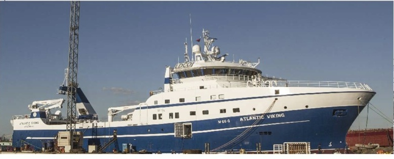 Turkey's Tersan Shipyard announces the delivery of F/T Atlantic Viking