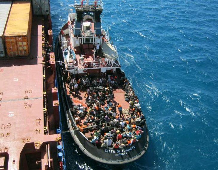 Danish merchant ships rescuing fewer refugees in the Mediterranean