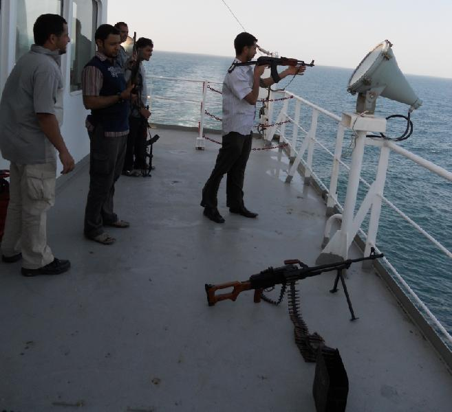 Armed guards now deployed on 80% of container ships and tankers