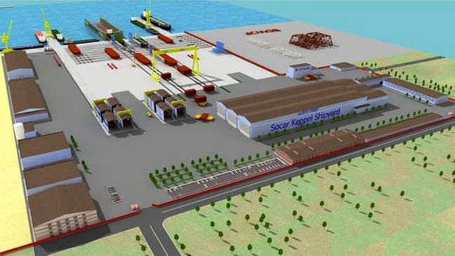 Azerbaijan: New Shipyard in Baku Officially Opened
