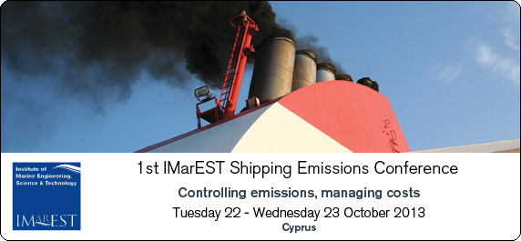 IMarEST carbon emission conference on mandatory controls October 22
