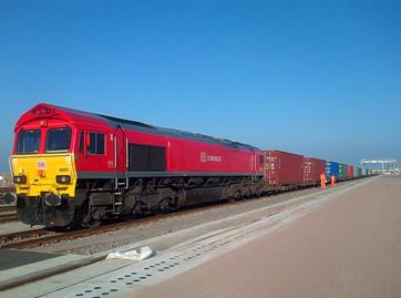 Schenker Rail whisks cargo from fire-stricken ship at London Gateway
