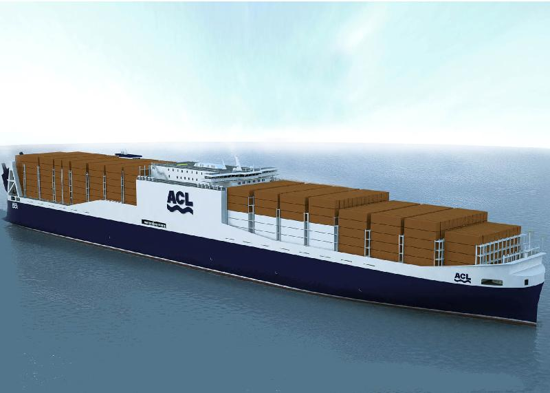 Biggest conro vessels in the world being built in Shanghai for ACL