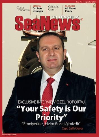 SeaNews Interview with Capt. Salih Orakcı, General Manager of Turkish Coastal Safety Administration