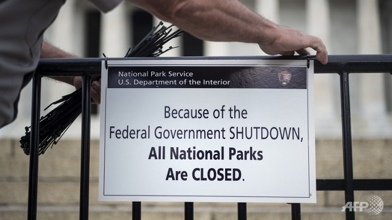 US Government shutdown lays off lawyers blocking USAir-AA merger