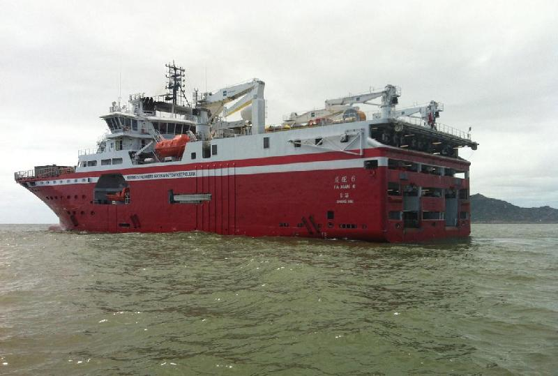 Rolls-Royce Designed Seismic Research Vessel Delivered to Sinopec