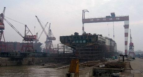 Shipbuilding 5-year drought ends for China's Yangzijiang shipyard