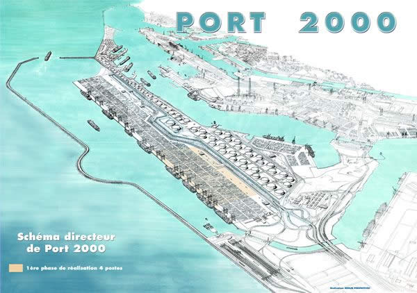 Le Havre ends first bidding in final phase of Port 2000 development