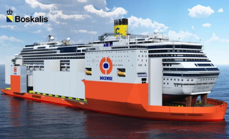 Costa Crociere Hires Dockwise Vanguard to Transport Concordia Wreck