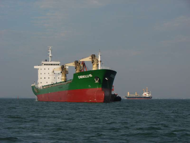 Cargo Ship Sinking off South Korea; 19 Missing