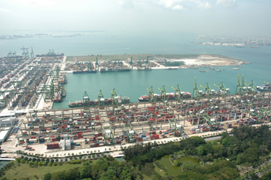 HK port falls 5.4pc in September to 1.8 million TEU, Singapore up 4.1pc
