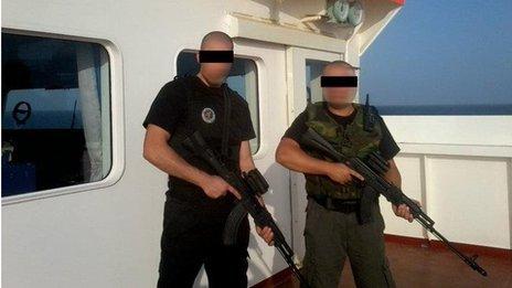 Security contractors repulse pirate attack in fire fight off Somalia