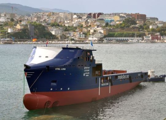 Spain: Gondan Shipyard Launches 'Stril Luna' (VIDEO)