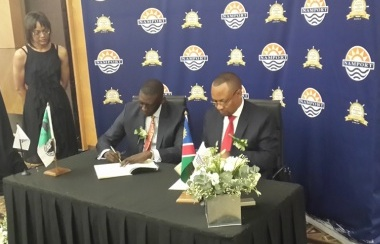 AfDB and Namibia sign ZAR 2.9 billion loan agreement for the construction of new Port of Walvis Bay Container Terminal