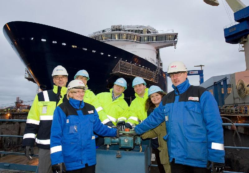 STX Turku Launches Mein Schiff 3 Built for TUI Cruises