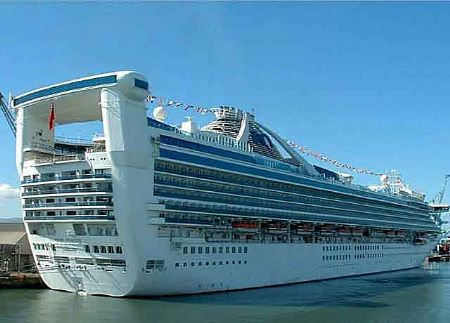 Woman jumps from Princess cruise ship, still missing