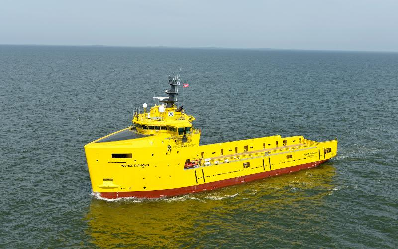 Damen sets the pace with Walk-to-Work vessel