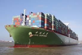 CSCL, UASC and OOCL slot exchange on two intra-Asia services