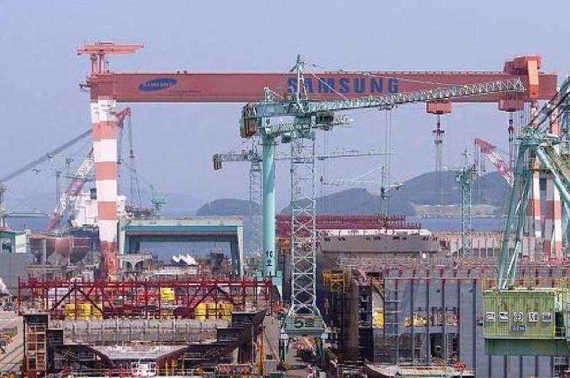 Samsung Heavy Bags Containerships Order