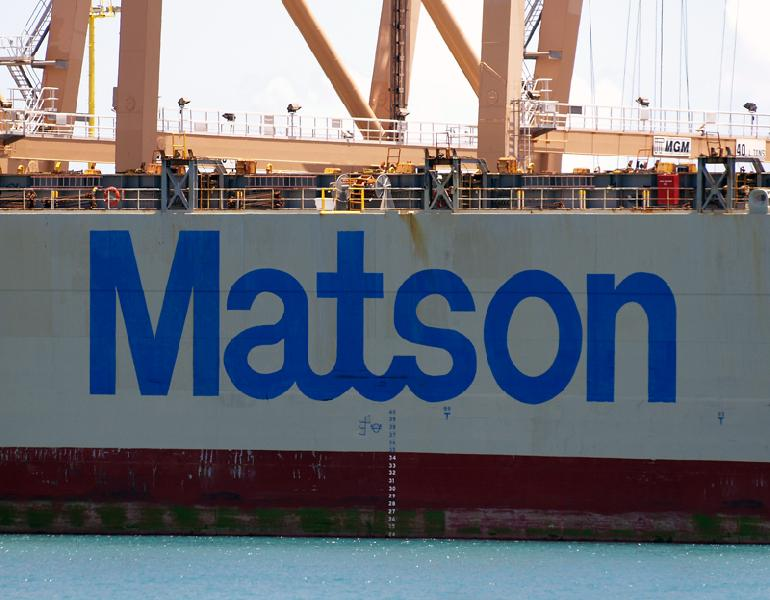 Matson to raise freight rates, terminal handling charges in 2014
