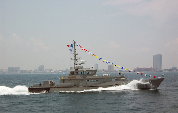 Mexican Navy contracts Damenfor fifth Tenochtitlan-class Patrol Vessel