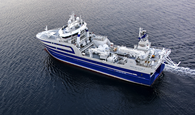 Turkish TERSAN SHIPYARD announces the delivery of F/T ANDENESFISK I