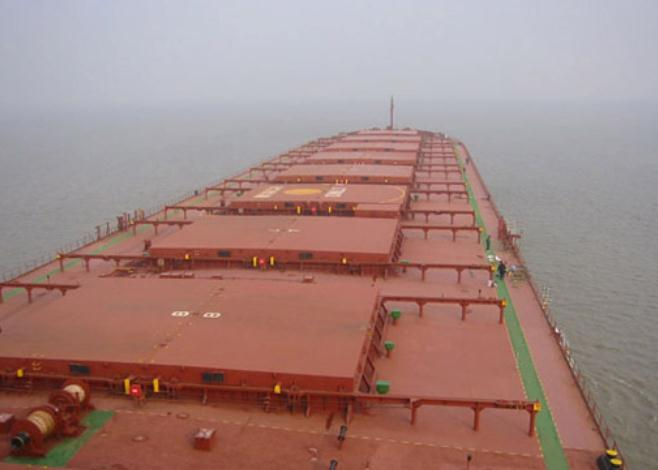 G E Shipping Places Order for Three Kamsarmax Dry Bulk Carriers